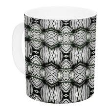 Flor by Matthias Hennig 11 oz. White Ceramic Coffee Mug