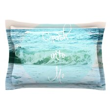 Crash Into Me by Beth Engel Cotton Pillow Sham