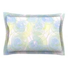 Paper Flower by Alison Coxon Cotton Pillow Sham
