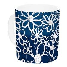 Daisy Lane by Emine Ortega 11 oz. Ceramic Coffee Mug