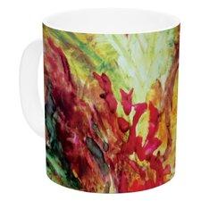 Passion Flowers I by Mary Bateman 11 oz. Ceramic Coffee Mug