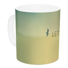 Let's Fly Away by Richard Casillas 11 oz. Ceramic Coffee Mug