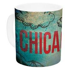Chicago by iRuz33 11 oz. Ceramic Coffee Mug