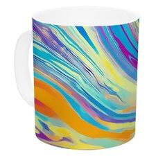 Rainbow Swirl by Ingrid Beddoes 11 oz. Ceramic Coffee Mug