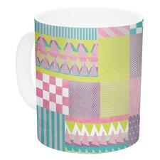 Patchwork by Louise Machado 11 oz. Ceramic Coffee Mug