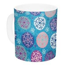 Floral Winter by Julia Grifol 11 Oz. Ceramic Coffee Mug