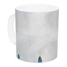 Paris by Mareike Boehmer 11 oz. City Rainbow Ceramic Coffee Mug