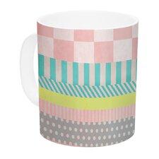 Luna by Louise Machado 11 oz. Pastel Ceramic Coffee Mug