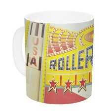 Life is a Rollercoaster by Libertad Leal 11 oz. Ceramic Coffee Mug