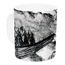 King Leo by Theresa Giolzetti 11 oz. White Ceramic Coffee Mug