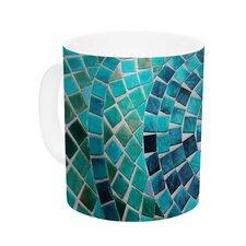 Circular by Sylvia Cook 11 oz. Ceramic Coffee Mug