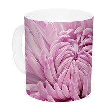 Dream by Nastasia Cook 11 oz. Flower Ceramic Coffee Mug