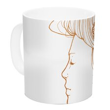 Organic by Jennie Penny 11 oz. Ceramic Coffee Mug