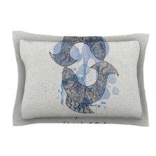 Pisces by Belinda Gillies Cotton Pillow Sham
