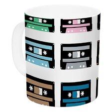 Rainbow Tapes by Project M 11 oz. Ceramic Coffee Mug