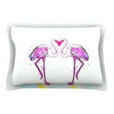 Love by Oriana Cordero Flamingo Cotton Pillow Sham