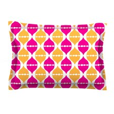 Moroccan Dreams by Apple Kaur Designs Cotton Pillow Sham, Orange