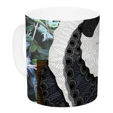 Panda by Art Love Passion 11 oz. White Ceramic Coffee Mug