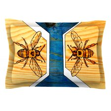 Bees by Brit y Guarino Cotton Pillow Sham