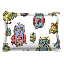 Owls by Brienne Jepkema Cotton Pillow Sham