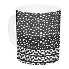 Wind Night by Pom Graphic Design 11 oz. White Ceramic Coffee Mug