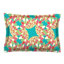 Wings by Miranda Mol Green Cotton Pillow Sham