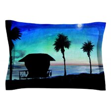 Carlsbad State Beach by Theresa Giolzetti Cotton Pillow Sham