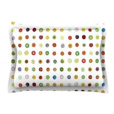 Fruit by Theresa Giolzetti Food Painting Woven Sham