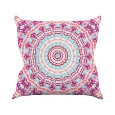 Happy by Iris Lehnhardt Throw Pillow
