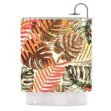 Jungle by Alison Coxon Shower Curtain