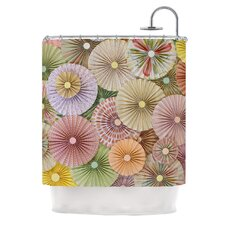 Spring by Heidi Jennings Pastels Abstract Shower Curtain