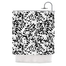 Leaves by Julia Grifol Shower Curtain