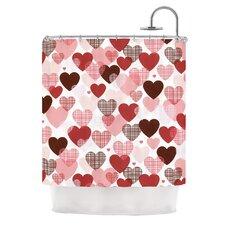 Love by Heidi Jennings Shower Curtain
