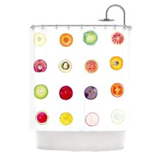 Fruit by Theresa Giolzetti Food Shower Curtain