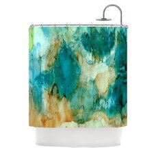 Waterfall by Rosie Brown Shower Curtain