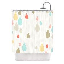 Rainy Days by Very Sarie Rain Shower Curtain
