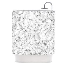 Marble by Will Wild Shower Curtain
