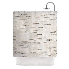 Painted Tree by Susan Sanders Rustic Shower Curtain