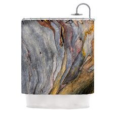 Milky Wood by Susan Sanders Shower Curtain