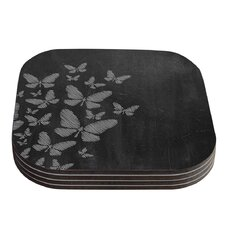 Butterflies Coaster (Set of 4)