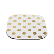 Scattered Metallic Coaster (Set of 4)