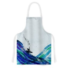 The Wave by Frederic Levy-Hadida Artistic Apron