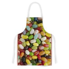 I Want Jelly Beans by Libertad Leal Artistic Apron