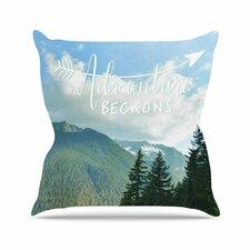 Adventure Beckons Throw Pillow