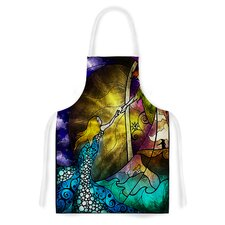 Fairy Tale off to Neverland by Mandie Manzano Artistic Apron