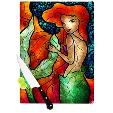 Ariel by Mandie Manzano Mermaid Cutting Board