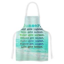 Summer XXL Fabric Artistic Apron