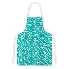 Swirls Fabric Artistic Apron
