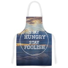Stay Hungry Artistic Apron