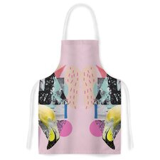 Flamingo Tropical Artistic Apron